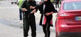 اقدام زیبای نیروی انتظامی در برخورد با بدحجابی